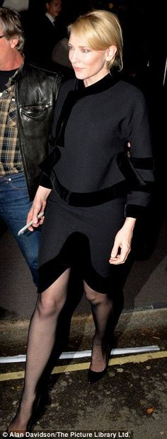 Cate Blanchett is elegance incarnate at Tom Ford LFW show