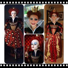 This person did an excellent job! I'm still fighting with that. Scary Halloween, Halloween Ideas, Halloween Party, Diy Costumes, Costume Ideas, Halloween Costumes, Disney Love, Disney Mickey, Red Queen Costume