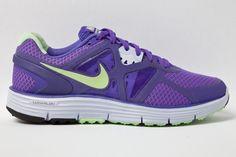 Nike Lunarglide+ 3 - purple/volt