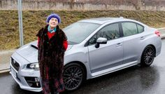 Need for Speed - 81-Year-Old Polish Lady Loves Driving Her 300hp 2016 Subaru WRX STI - http://www.odditycentral.com/auto/need-for-speed-81-year-old-polish-lady-loves-driving-her-300hp-2016-subaru-wrx-sti.html