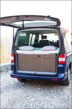 vw multiflex board - Google Search Bus Camper, Camper Beds, Camper Van Life, Build A Camper, Truck Bed Camper, Mini Camper, Camper Caravan, Minivan Camping, Vw T5
