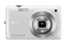 Nikon COOLPIX S4300 16 MP Digital Camera with 6x Zoom NIKKOR Glass Lens and 3-inch Touchscreen LCD (White)