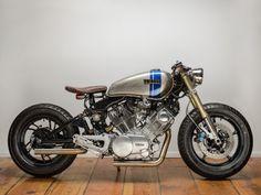 美しいXV750 ViragoのVツインエンジンが主張するカフェカスタム - LAWRENCE - Motorcycle x Cars + α = Your…
