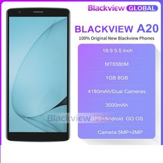 Blackview A20 18:9 5.5 inch Android Go dual Camera 1GB 8GB MT6580M 5MP 3G  Price: $82 & FREE Worldwide Shipping  #gadgets #gadgetsale #newtech #gadgethawk #freeworldwideshipping #thegadgethawk #toptech #electronics #onlinegadgets #ecommercetech