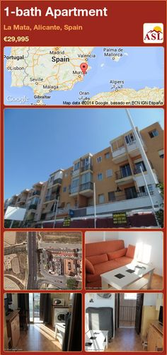 1-bath Apartment in La Mata, Alicante, Spain ►€29,995 #PropertyForSaleInSpain