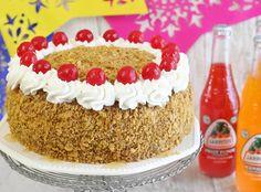 Sprinkle Bakes: Fried Ice Cream Layer Cake