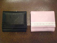 ロゴマークを刻印しリボンとハートの合皮レースをあしらったお財布です。日常をかわいく彩るアイテムはプレゼントにもピッタリ♡/プリンセスドロップエンボスショートウォレット(BABY,THE STARS SHINE BRIGHT)¥6,195- /BABY,THE STARS SHINE BRIGHT金沢店 TEL:076-263-2439/Tatemachi Christmas Collection