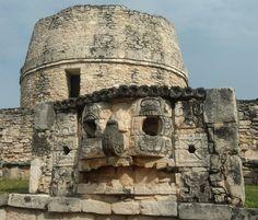 Mayapan Tikal, Old Buildings, Mount Rushmore, Tower, Mountains, Maya, Nature, Travel, Architecture