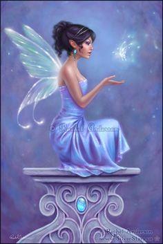 "*FAIRIES ~ Opalite ""✮✮Feel free to share on Pinterest"" ♥ღ www.FAIRYTALES4KIDS.com"