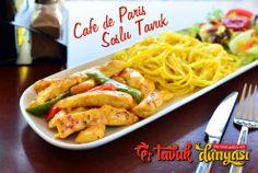 """""""Cafe de Paris Soslu Tavuk, Zafer Plaza Tavuk Dünyası`nda yenir"""""""