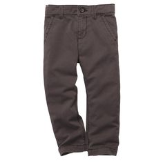 Twill Pants - in grey, available Toddler and big boy.