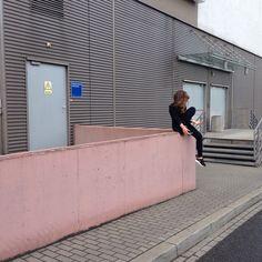 #pink #girl #tumblr #black Instagram paaulski