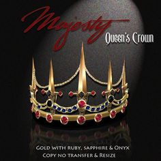 Exquisite Majesty Queen's Crown Gold