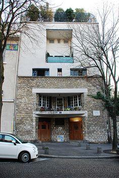 Maison Tristan Tzara, Paris, Adolf Loos, 1926