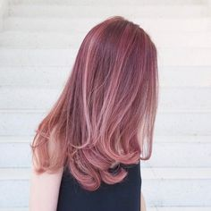 cool Rose Gold Hair -  Check more at http://newaylook.com/best-rose-gold-hair-color-hairstyle/