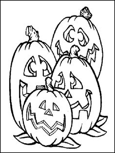 Pumpkin Coloring Page Halloween Pictures, Holidays Halloween, Halloween Pumpkins, Halloween Crafts, Halloween Ideas, Mandala Coloring Pages, Colouring Pages, Adult Coloring Pages, Coloring Books