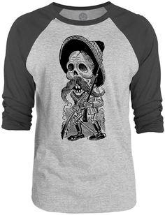 Mintage Unisex Raglan Baseball T-Shirt The Mintage Unisex Raglan Baseball T-Shirt is a unisex lightweight, waterbase ink Pancho Villa, Unisex, Trending Outfits, Sleeves, Mens Tops, T Shirt, Ink, Baseball, Fashion