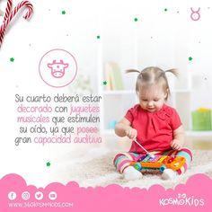 ¡La niña #Tauro posee una gran capacidad auditiva! ¿Quieres aprender más sobre tus hijos? ingresa a nuestra web y descarga nuestra app.    #360KosmoKids #educación #astrología #astronomia #hijos #padres #niña #juguetes Instagram, Children, Face, Audio, Parents, Sons, Taurus, Musicals, Toys