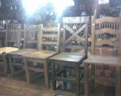 SIlllas rusticas estilo campo (22/10/13) Tenemos Importante stock y variedad de sillas rusticas estilo campo. Tenemos con asiento de junco o con asiento de madera. Entrega inmediata. Mucho stock