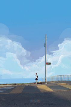 6月|插画|商业插画|lost7 - 原创作品 - 站酷 (ZCOOL)