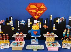 Superhero B'day Theme
