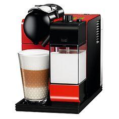 Nespresso Cafetera Eléctrica Latissima Plus Rojo