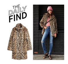 """Daily Find: H&M Coat"" by polyvore-editorial ❤ liked on Polyvore featuring H&M and DailyFind"