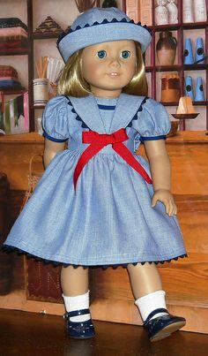 Very cute sailor dress.