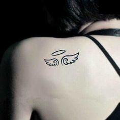 30 Tatuagens de Anjinhos Delicados, Pequenos, Fofos, Lindos!