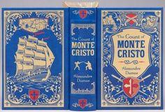 Alexandre Dumas Count of Monte Cristo Leather SEALED Gold Gilt