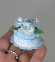 battery operated tea light 'cake' by - Cards and Paper Crafts at Splitcoaststampers Tea Light Candles, Tea Lights, Card In A Box, Crafts To Make, Diy Crafts, Light Cakes, Candle Art, Scrapbooking, 3d Paper Crafts