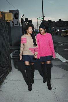 The Quann Sisters Love Vintage, Lisa Bonet, and Being Comfortable - The Quann sisters