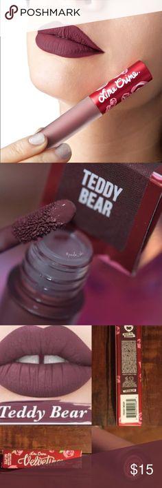 Matte lipstick by Lime Crime Exclusive matte lipstick Teddy bear Lime Crime Makeup Lipstick