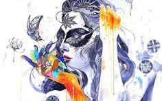 Fantasy Woman Portrait HD Wallpaper | 999HDWallpaper