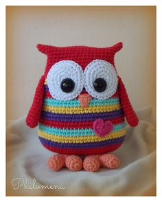 Owl Crochet Pattern Free, Crochet Owls, Easy Crochet Patterns, Crochet Gifts, Crochet Animals, Star Wars Crochet, Owl Patterns, Crochet Baby Clothes, Sewing Dolls