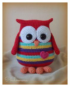 Crochet Owl Pillows, Crochet Owls, Crochet Gifts, Crochet Animals, Owl Crochet Pattern Free, Easy Crochet Patterns, Amigurumi Patterns, Star Wars Crochet, Owl Patterns