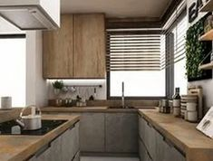 38 Fall Kitchen Trends: Color, Style and Seasonal Goodness « inspiredesign Luxury Kitchen Design, Kitchen Room Design, Home Decor Kitchen, Interior Design Kitchen, Kitchen Furniture, New Kitchen, Home Kitchens, Wooden Kitchen, Kitchen Trends