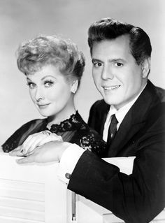 Lucille Ball & Desi Arnaz  They are simply gorgeous.