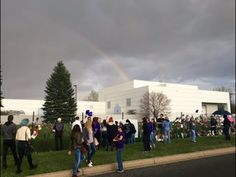 Prince - Rainbow Appears Over Paisley Park - Spirit Leaving Dove - YouTube