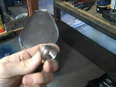 welding gas tank bottom in + modifying the petcock bung