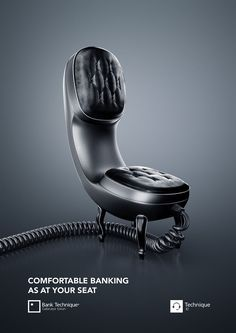 cool Online Banking AD on Behance...