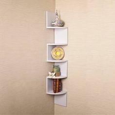 Large Corner Shelf - Walnut : Target