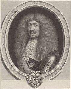 Antoine Masson | Alexandre Dupuy, Marquis de St André Montbrun, Antoine Masson, Gilbert de Sève, 1646 - 1700 |