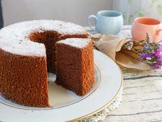 チョコシフォンケーキの写真