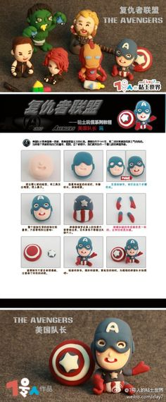 The Avengers - Captain America, share numbers from # 7 clay world #