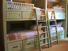 perfect for small space and lots o kids!  It would also be excellent to turn the bottom bunk into a desk/study area and have the loft bed above
