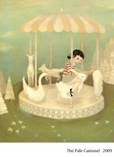 """Emily Winfield Martin makes paintings, books, and other things. She is the author and illustrator of a paper doll epic called """"The Black Apple's Paper Doll Primer"""" (Potter Craft, 2010) and an illustrated novel for children, """"Oddfellow's Orphanage"""""""