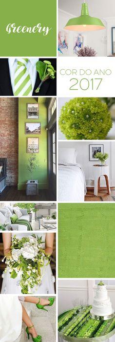 A cor do ano 2017 | Verde Greenery by Pantone http://comprandomeuape.com.br/2016/12/cor-ano-2017-verde-greenery-pantone.html