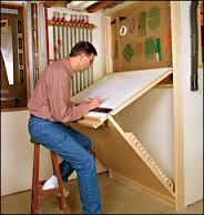 Be good as a drafting table/work table for the spare room, would need to adjust the angle to make a flat table height.