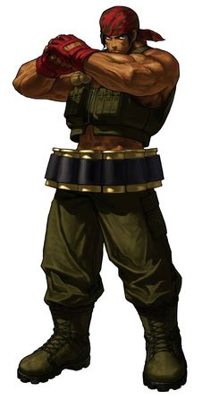Ralf Jones - Pictures & Characters Art - King of Fighters XIII